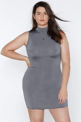 Nasty Gal Mock It to Me Bodycon Dress