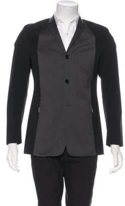 Christian Dior Two-Tone Wool Coat