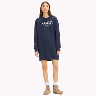 Tommy Hilfiger Logo Sweatshirt Dress