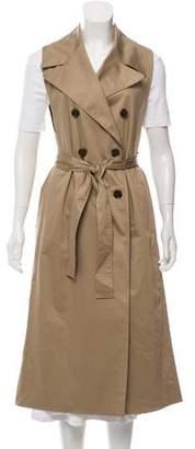 Tome Notch-Lapel Longline Vest