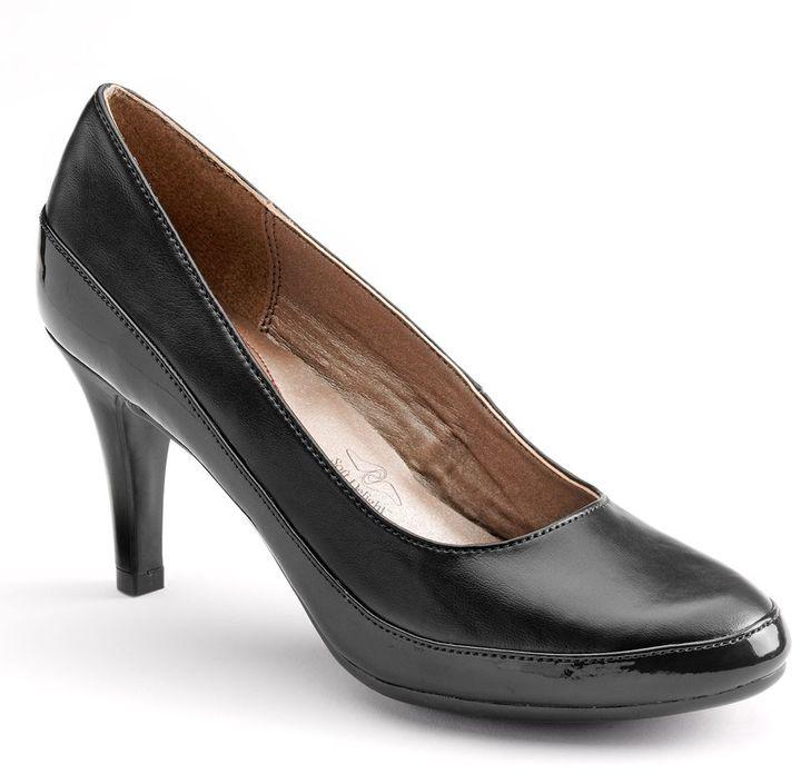 Hush Puppies Soft style by cristina wide dress heels - women