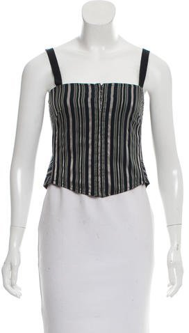 Marc by Marc Jacobs Striped Cropped Top w/ Tags