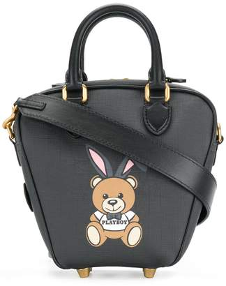 Moschino ready to bear playboy tote bag