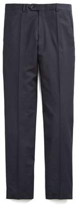 Todd Snyder Pleated Tropical Wool Trouser in Navy