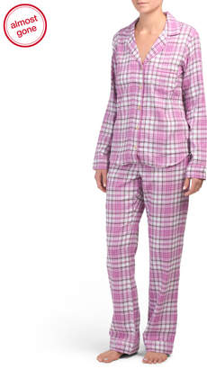 Milo Flannel Pajama Set