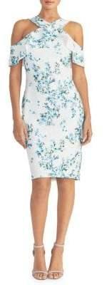 Rachel Roy Jolie Floral Lace Sheath Dress