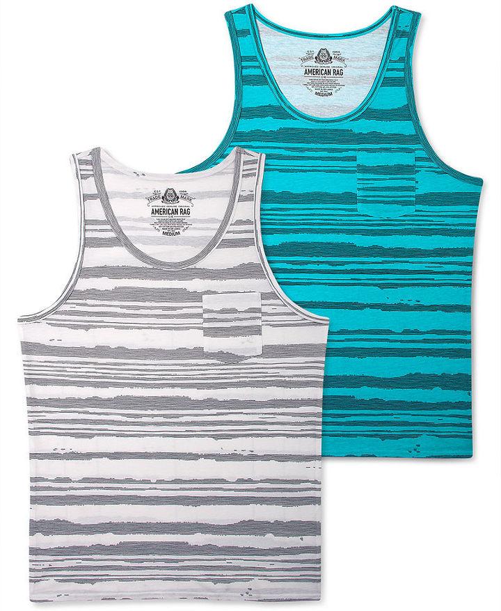 American Rag T-Shirt, Feeder Stripe Tank Top