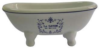 Kingston Brass Le Savon Aqua Eden Decorative Mini Bathtub Soap Dish