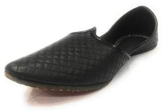 95a6b1843 N. Step Style Jutti Ethnic Handmade Flipflops Mojari Indian Men Shoes  Sherwani Khussa