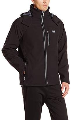 New Balance Men's Soft Shell 3-in-1 Jacket with Removable Inner Fleece