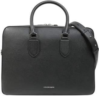 Alexander McQueen Leather Briefcase