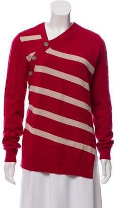 Proenza Schouler Striped Knit Sweater