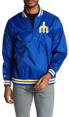 Mitchell & Ness 1/4 Zip Mariners Team Pullover