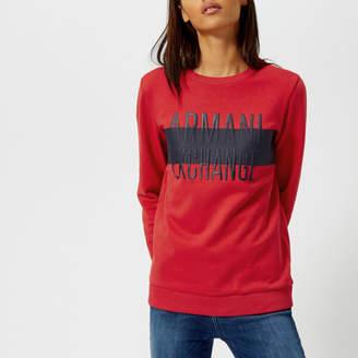 Armani Exchange Women's Logo Sweatshirt