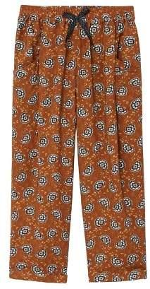 MANGO Printed baggy pants