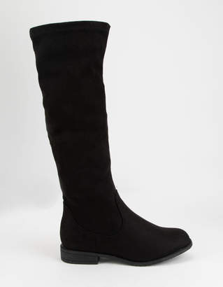 OLIVIA MILLER Over The Knee Girls Boots