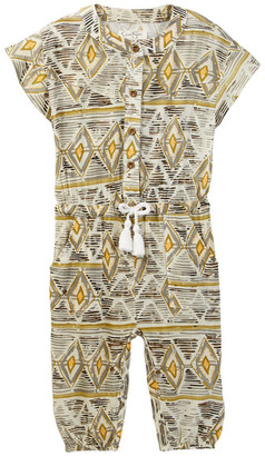 Jessica Simpson Printed Romper (Baby Girls) $35 thestylecure.com