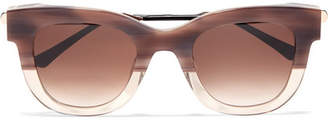 Thierry Lasry Sexxxy Cat-eye Acetate And Gold-tone Sunglasses - Pink