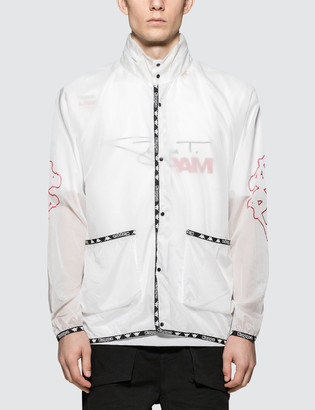 Perks And Mini P.A.M. x A.Four Labs x Kappa Hooded Coach Jacket