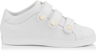 Jimmy Choo NY White Calf Leather Trainers