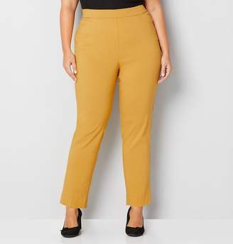 Avenue Plus Size Super Stretch Cateye Pull-On Pant
