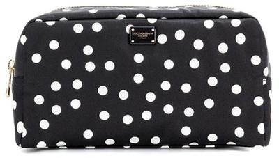 Dolce & GabbanaDolce & Gabbana Polka-dot Cosmetic Case