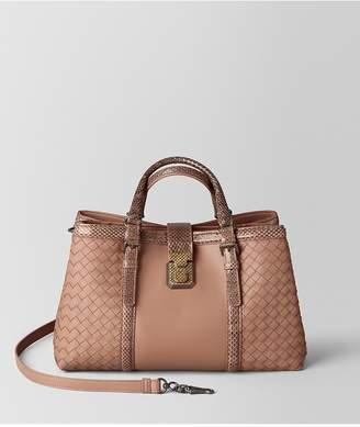 Bottega Veneta Dahlia Intrecciato Nappa Roma Bag