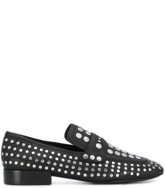 Ash studded loafers