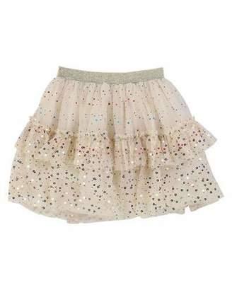Billieblush Metallic Printed Mesh Tutu Skirt, Size 4-12