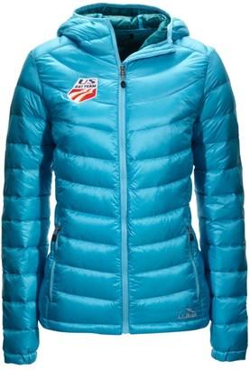 L.L. Bean L.L.Bean Women's Ultralight 850 Down Hooded Jacket, U.S. Ski Team