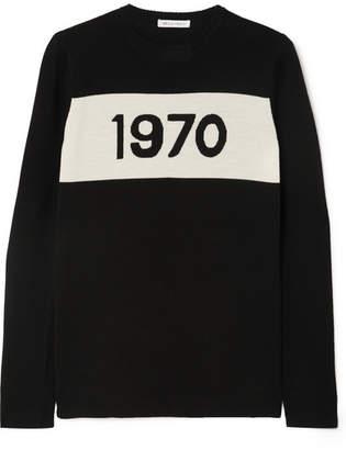 Bella Freud 1970 Wool Sweater - Black