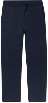 Wide-Leg Pima Cotton-Jersey Sweatpants