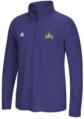 adidas Men East Carolina Pirates Ultimate Quarter-Zip Pullover