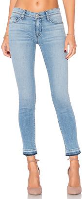 Hudson Jeans Krista Release Hem Skinny $205 thestylecure.com
