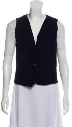 Frame Corduroy Button-Up Vest