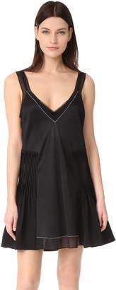 3.1 Phillip Lim Tank Dress with Bra Detail $625 thestylecure.com