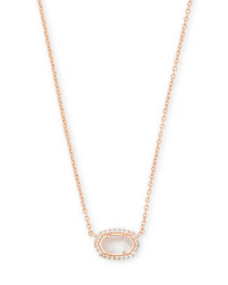 Kendra Scott Chelsea Pendant Necklace in Rose Gold