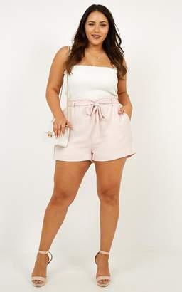 Showpo Sweet Taste Shorts in pink gingham