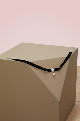 Miu Miu Silver chocker necklace