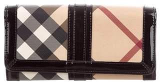 Burberry Super Nova Check Wallet