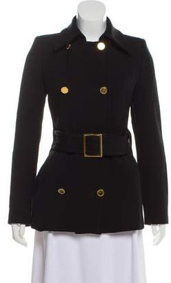 Dolce & Gabbana Belt-Accented Double-Breasted Coat