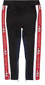 Fila Haus of JR x Kids' Logo-Embroidered Colorblocked Track Pants