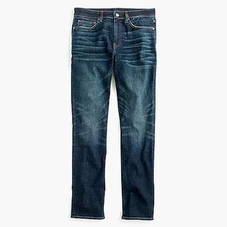 770 Straight-fit jean in stretch dark worn Japanese denim
