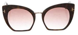 Tom Ford Samantha Cat-Eye Sunglasses