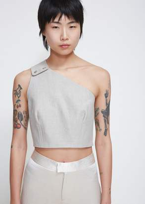 Nomia Snap Shoulder Cropped Top