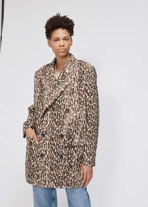 Junya Watanabe Faux Leopard Blazer