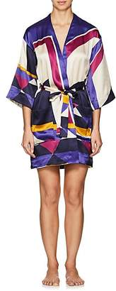 Eres WOMEN'S ARTWORK MUSEUM SILK KIMONO - 00713-MULTICOLORE ADDICT