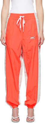 Alexander Wang Orange and Grey Washed Lounge Pants