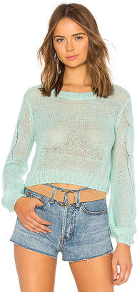 Lovers + Friends Airy Crop Sweater