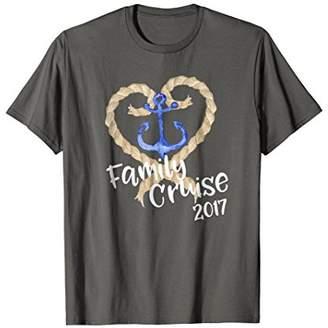 Family Cruise 2017 T-Shirt Cruising on Vacation Matching Tee